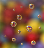 Chocolate Bubbles Royalty Free Stock Photos