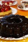 Chocolate Bundt Cake Royalty Free Stock Image
