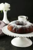 Chocolate bundt cake Royalty Free Stock Photography