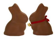 Free Chocolate Bunnies Stock Photography - 24108382