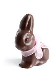 Chocolate bunny Royalty Free Stock Photography