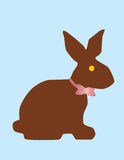 Chocolate bunny Stock Photo