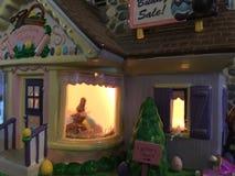 Chocolate Bunny Factory Fotografia de Stock Royalty Free