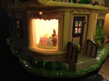 Chocolate Bunny Factory Outside View Imagem de Stock