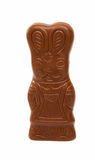 Chocolate bunny isolated Stock Photo
