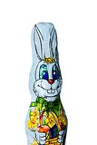 Chocolate bunny royalty free stock photo