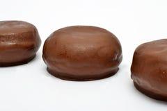 Chocolate buns Royalty Free Stock Photos