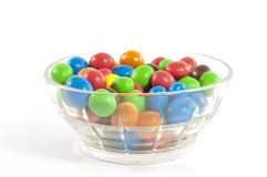 Chocolate button candies. In a cup Royalty Free Stock Photography