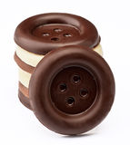 Chocolate buttons Royalty Free Stock Photography