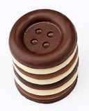Chocolate buttons Stock Photos