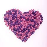 Chocolate Buttons Heart Stock Images