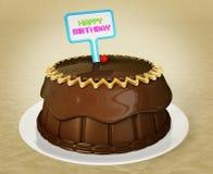 Chocolate cacke Stock Image