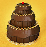Chocolate cacke Royalty Free Stock Photography