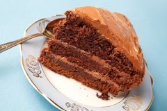 Chocolate cake Royalty Free Stock Photos