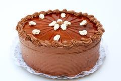 Chocolate cake. Majestic traditional hungarian chocolate cake Royalty Free Stock Photo