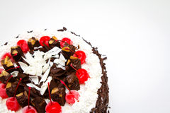 Chocolate cake. Royalty Free Stock Photos