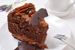 Chocolate cake Stock Image