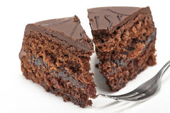 Chocolate cake Royalty Free Stock Image