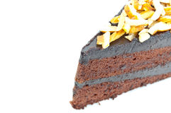 Chocolate cake. Stock Photo
