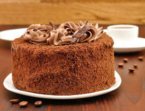 Chocolate cake Stock Images