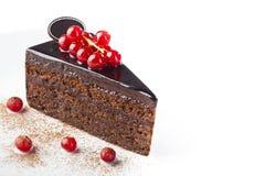 Сhocolate cake Royalty Free Stock Images