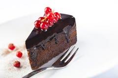 Сhocolate cake Royalty Free Stock Photos
