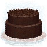 Chocolate-cake Stock Image
