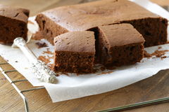 chocolate cake brownie Royalty Free Stock Photography