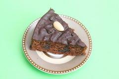 Chocolate Cake with cherries Stock Photography