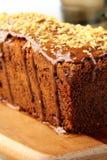 Chocolate cake with chocolate Royalty Free Stock Photos