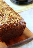 Chocolate cake with chocolate Stock Photography