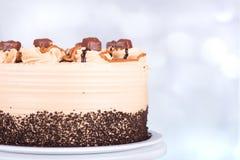 Chocolate Cake Closeup Royalty Free Stock Image