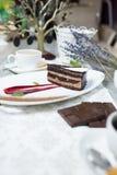 Chocolate cake Royalty Free Stock Photography