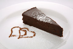 Chocolate Cake Delicia Royalty Free Stock Image