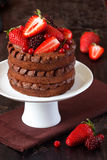 Chocolate cake. Royalty Free Stock Photography