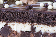 Chocolate Cake, delicious sweet food Royalty Free Stock Image