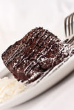 Chocolate Cake Dessert Stock Images
