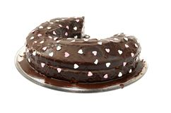 Chocolate cake royalty free stock photography
