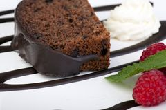 Chocolate Cake I Royalty Free Stock Image