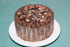 Chocolate cake icecream Royalty Free Stock Photos