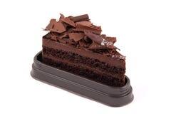 Chocolate Cake isolated. On white background stock image