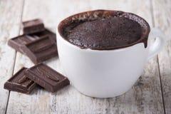 Chocolate cake in a   mug Stock Image