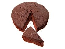 Chocolate Cake Pieces 2 Stock Images