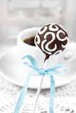 Chocolate cake pop Royalty Free Stock Photography