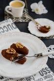 Chocolate cake Potato Stock Photography