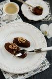 Chocolate cake Potato Stock Image