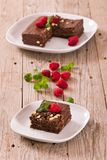 Chocolate cake. stock photos