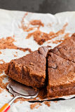 Chocolate cake slices Royalty Free Stock Photo
