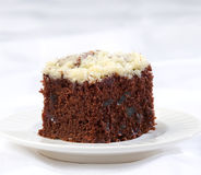 Chocolate cake with sugar icing Royalty Free Stock Photo