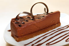 Chocolate cake.sweet dessert Stock Photos